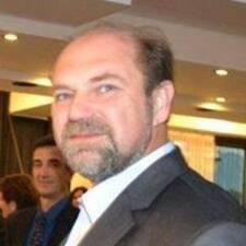 Aleksandar felhasználói profilja