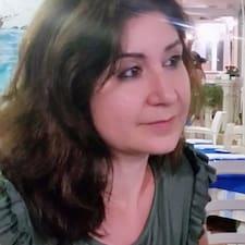 Cinzia felhasználói profilja