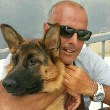 Ruggero felhasználói profilja