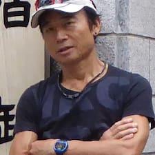 Masanori ist der Gastgeber.