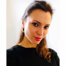 Kateryna felhasználói profilja