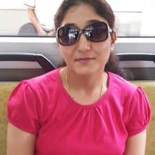 Samriti felhasználói profilja