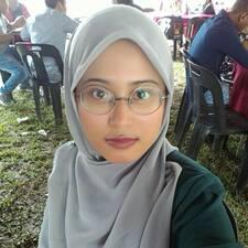 Nadirah felhasználói profilja