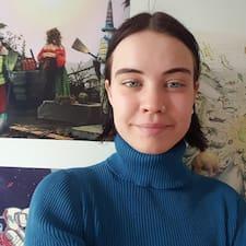 Grete felhasználói profilja