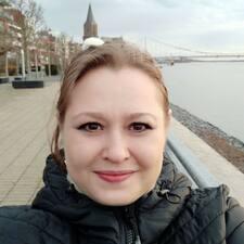 Olesja felhasználói profilja