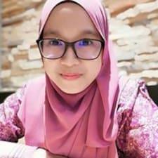 Profil utilisateur de Nadzirah