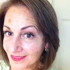 Sarita felhasználói profilja