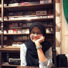 Atiqah felhasználói profilja