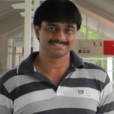 Perfil do utilizador de Krishnan