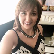 Dolores felhasználói profilja