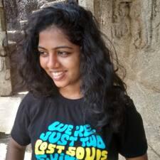 Profil utilisateur de Nanditha