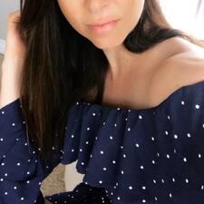 Elana felhasználói profilja