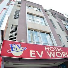 Gebruikersprofiel EV World Hotel