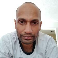 Rajesh的用戶個人資料
