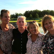 Yvonne, Ankie, Betty En Magda é um superhost.