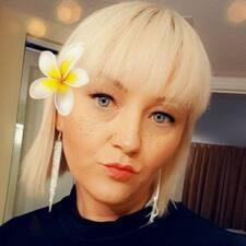 Brooke felhasználói profilja