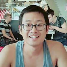 Henkilön Hyungsoon käyttäjäprofiili