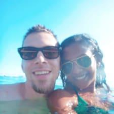Indu & Caleb felhasználói profilja