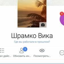 Профиль пользователя Shramko
