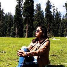Shalini felhasználói profilja