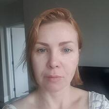 Oxana felhasználói profilja