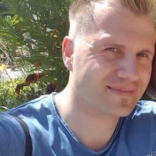 Stefan felhasználói profilja