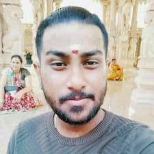 Tinesh felhasználói profilja