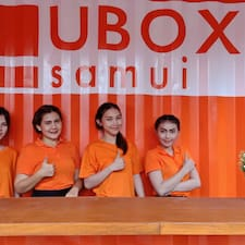 UBOX Hostel - Uživatelský profil