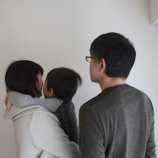 Användarprofil för Keiko