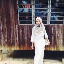 Nabila Akma felhasználói profilja