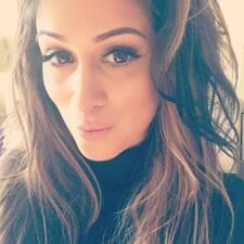 Asha felhasználói profilja