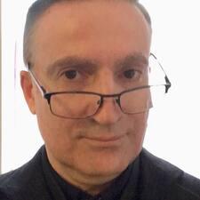 Henkilön Jean-Christophe käyttäjäprofiili