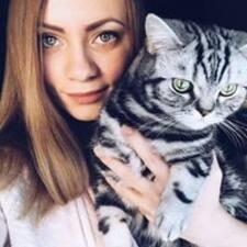Profil utilisateur de Юля