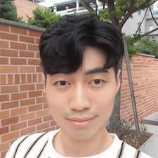 Jinwook felhasználói profilja