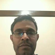 Henkilön Krishnamurthy käyttäjäprofiili