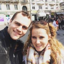 Caroline & Benjamin je domaćin.