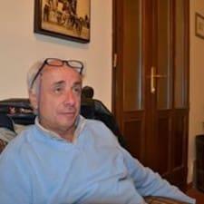 Henkilön Antonio Giuseppe käyttäjäprofiili