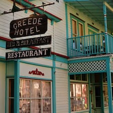 Creede Hotel Manager User Profile