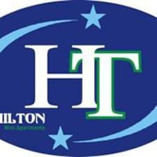 Användarprofil för Hilton