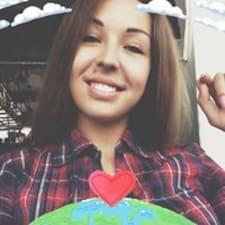 Anastasia felhasználói profilja