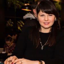 Nadiia felhasználói profilja