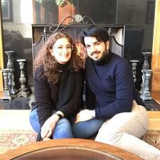 Shima & Saeid felhasználói profilja