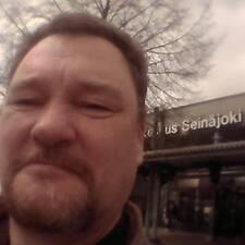 Lasse felhasználói profilja