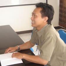 Rizal felhasználói profilja