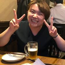 Megumi felhasználói profilja