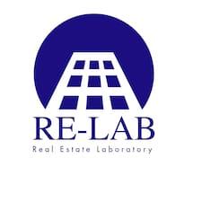 Re-Lab felhasználói profilja
