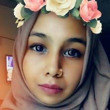 Naziha felhasználói profilja