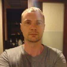 Användarprofil för Yury