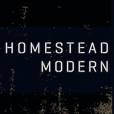 Homestead Modern User Profile
