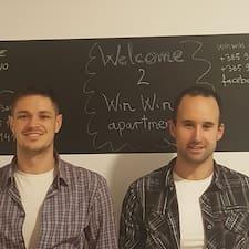 Nutzerprofil von Kristijan (Chris) & Matija (Matt)
